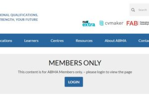 ABMA Education Members' Area is now available to access