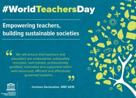 World Teachers Day 2017