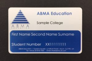 ABMA Education Updated Student Card