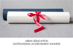 ABMA Education International Outstanding Achievement Awards