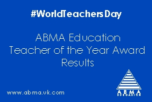 World Teacher Day and ABMA Education Teacher of the Year Award Results